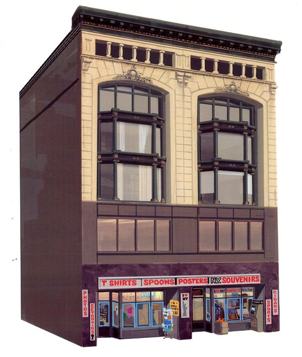 """the art of kevin nelson: a few new york buildings i did for """"Bolt"""""""