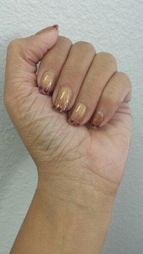 1000+ Ideas About Fall Gel Nails On Pinterest