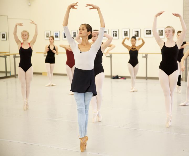 The National Ballet of Canada gives young dance students the opportunity to learn from professional dancers right in the National Ballet's studios. Senior