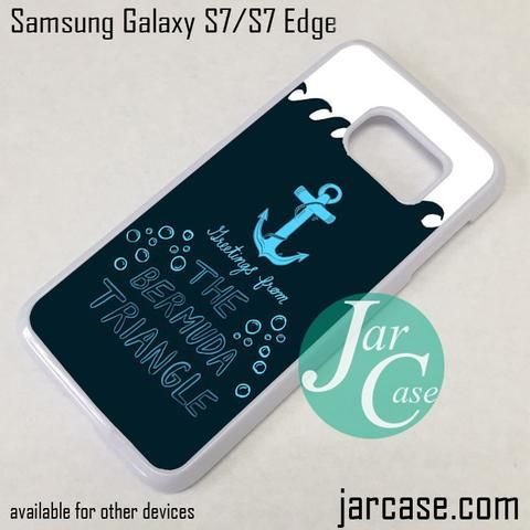 Bermuda Triangle Anchor Phone Case for Samsung Galaxy S7 & S7 Edge