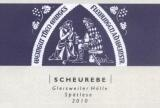 Theo Minges 2010 Gleisweiler Holle Scheurebe Spatlese