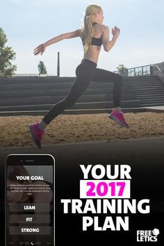 Ready to make a change? 2017 is your year. Personalized training plans. Try out 11 workouts for free. Start today: https://www.freeletics.com