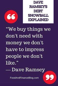 Best 10+ Debt snowball ideas on Pinterest | Dave ramsey, Debt ...