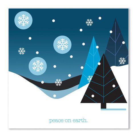 theodore + paper: winter card – theodore + paper