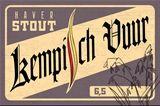 Kempisch Vuur Haverstout is een donker bier met een kleur van 80 EBC. Een storting van 14,5°P brengt het alcoholgehalte, na hergisting op de fles, op 6,5 vol%.  Het is een stout van het Belgische type, dus eerder vlot binnenlopend. Wat speciaal is aan deze stout is dat haver een derde van de gestorte granen voor zijn rekening neemt. Dit is uniek in België en dus zeker het proberen waard.