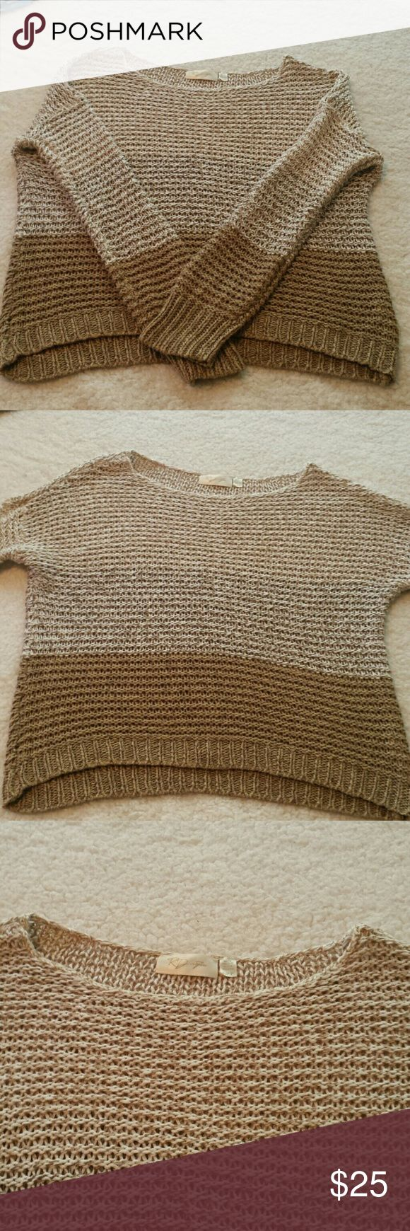 RD Style Ombre Sweater. Size Small. Pretty and casual RD Style ombre sweater. In very good used condition. No stains or holes (that aren't supposed to be there. Lol.) Very nice quality. Size Small. RD Style Sweaters