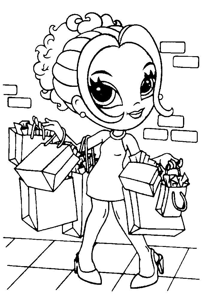 bratz pixie coloring pages | 119 best images about bratz on Pinterest | Jade, Dibujo ...