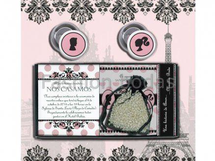 Invitación de boda - CAJA PRETTY  E700-660