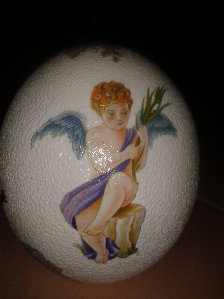 #decoupage #angeli #cherubini #hobby #decori #decorazioni