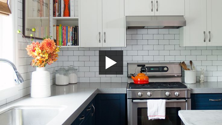 See a budget-friendly family kitchen by designer Olivia Botrie and get her tips for making a small space functional for a family.
