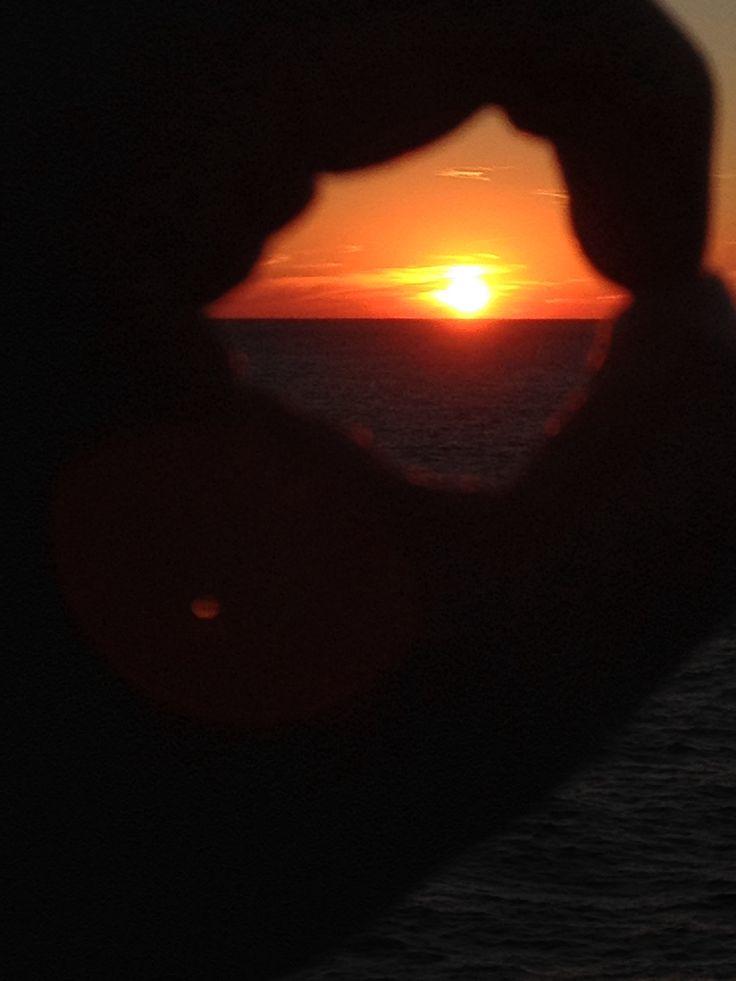 Sun set... Disney's cruise