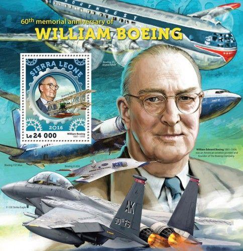 SRL16410b 60th memorial anniversary of William Boeing (William Boeing (1881-1956), Boeing B & W)
