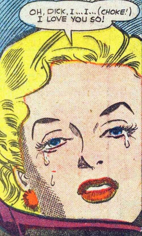 Dick I I Choke I Love You So Funny Vintage Comic Book Art Comic Tears Comics Comic Books Art Vintage Comics