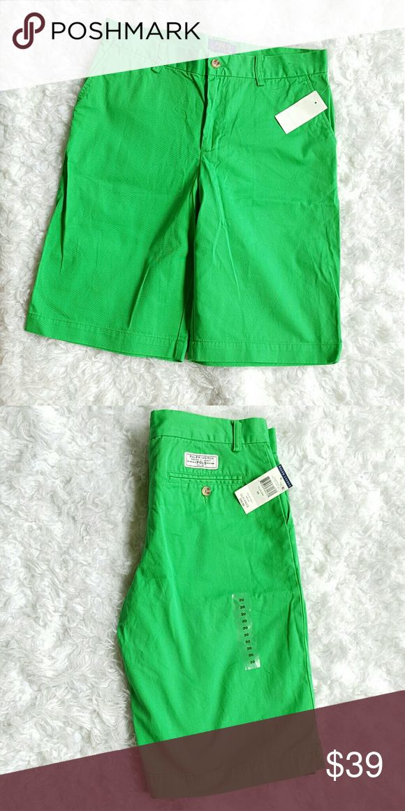 Polo Ralph Lauren guys shorts Brand new Polo Ralph Lauren guys green shorts. Comes with tags. Polo by Ralph Lauren Shorts