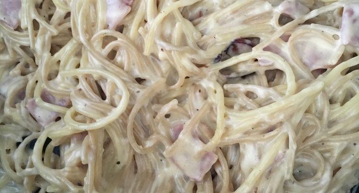 Krèmes sajtos-fokhagymàs spagetti | APRÓSÉF.HU - receptek képekkel
