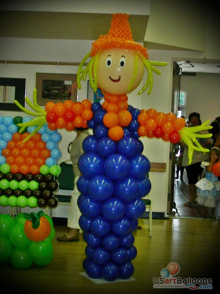 11 best fall balloon decor images on pinterest balloon for Balloon arch decoration ideas