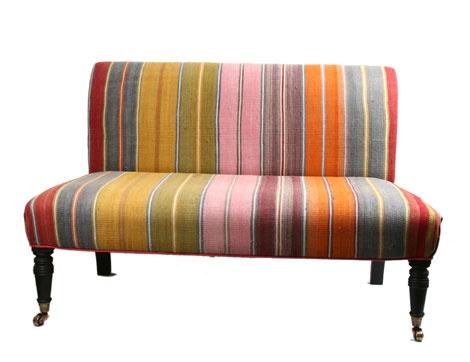 Just sittin on a rainbow..Kelim Couch, Diy Furniture, Set, London Design, Interiors Design, Furniture Projects, Kelim Chauffeus, Seater Kelim, Design Stores
