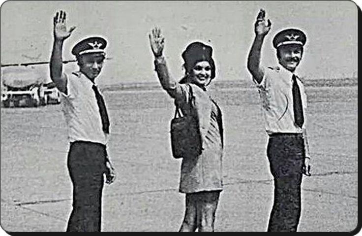 Güle Güle 2014! (F: Kartal Tibet, Bahar Erdeniz ve Süleyman Turan - Yeşilköy / Atatürk Havaalanı - 1972) #istanlook