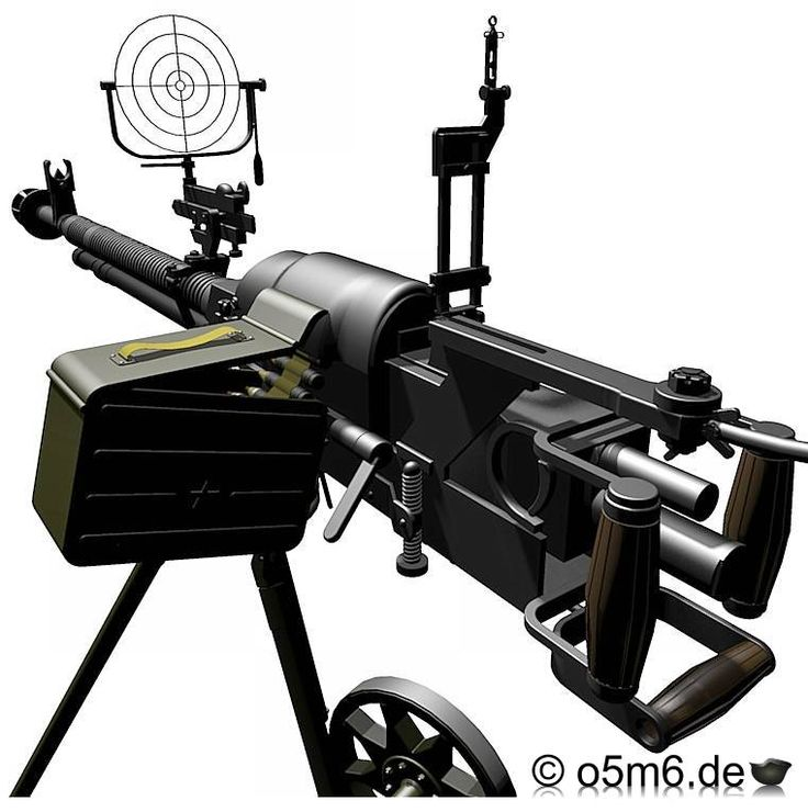 best heavy machine gun