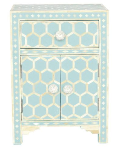 Bone and Resin 2 Door Side Cabinet Honeycomb - Complete Pad ®
