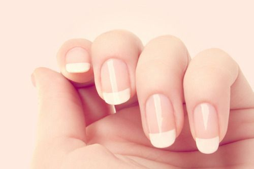 french nails <3 them