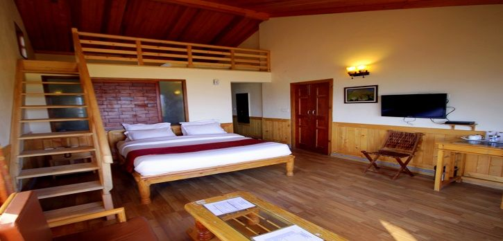 Family Suite : Modern and clean. Luxury suites at this best with Himalayan View.