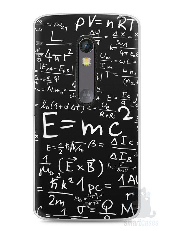 Capa Capinha Moto X Play Teoria da Relatividade Einstein - SmartCases - Acessórios para celulares e tablets :)