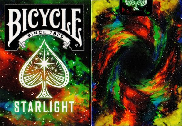 Bicycle Starlight Playing Cards by Collectable Playing Cards available at http://www.playingcards4magic.com/products/collector/