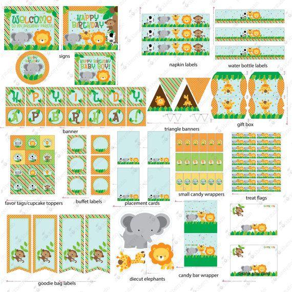 Pinterest Jungle Buildings: 1000+ Ideas About Jungle Party Decorations On Pinterest