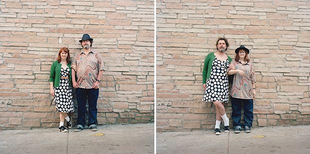Switcheroo (vrij vertaald: wisseltruc) is een jaren lopend portretproject van de Canadese fotografe Hana Pesut. Het concept is simpel (en erg geestig): ze legt stelletjes vast, vraagt ze elkaars kleren aan te trekken, maakt een tweede foto en plaatst de twee foto's naast elkaar. De locatie blijft hierbij altijd hetzelfde. Een selectie van haar recente […]