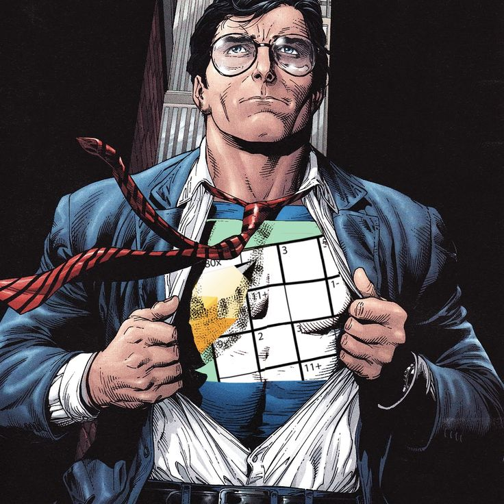 Oops... wrong undershirt Clark... 😮 #puzzlefreak