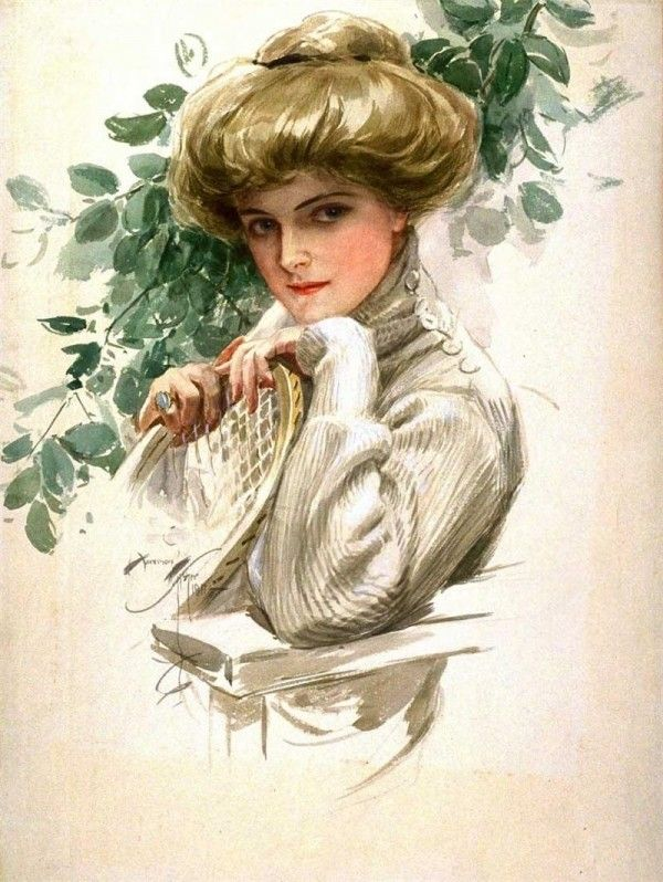 ༺ Gibson Girls ༻  Illustrations from the Belle Époque - Harrison Fisher