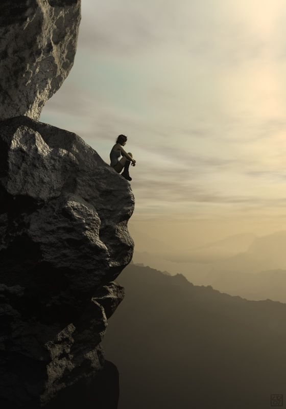 On the Edge of a Cliff