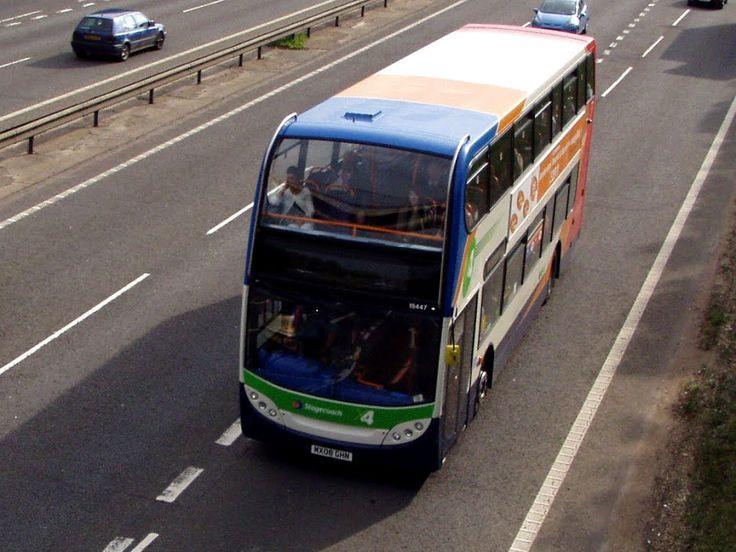 Stagecoach Bus Fleet No.15447 Photo, near Northampton, England: #bus #travel #ukbus #stagecoachbuses  #photography #england #britain #britishbuses