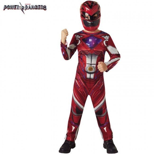 Déguisement Power Ranger Rouge pour garçon #costumespetitsenfants #nouveauté2017