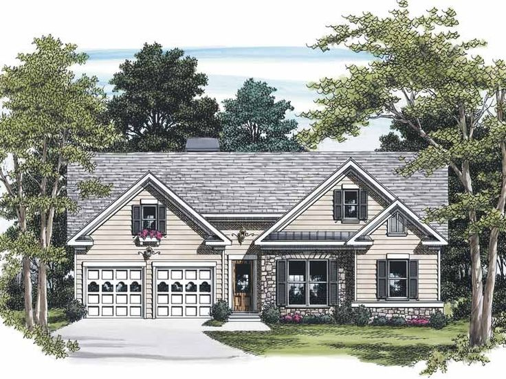Eplans Cottage House Plan Ornate Charm