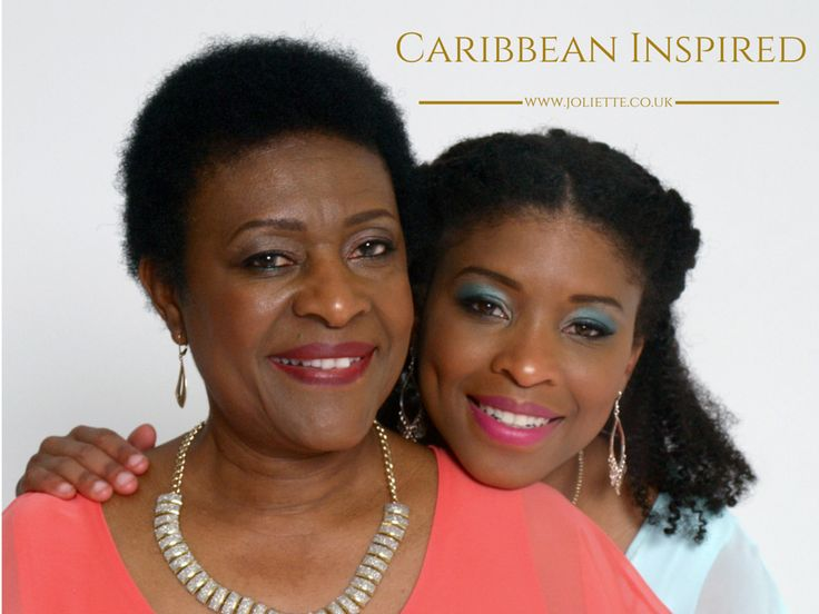 Joliette and Alicia, mother and daughter owners of AfroDeity Ltd