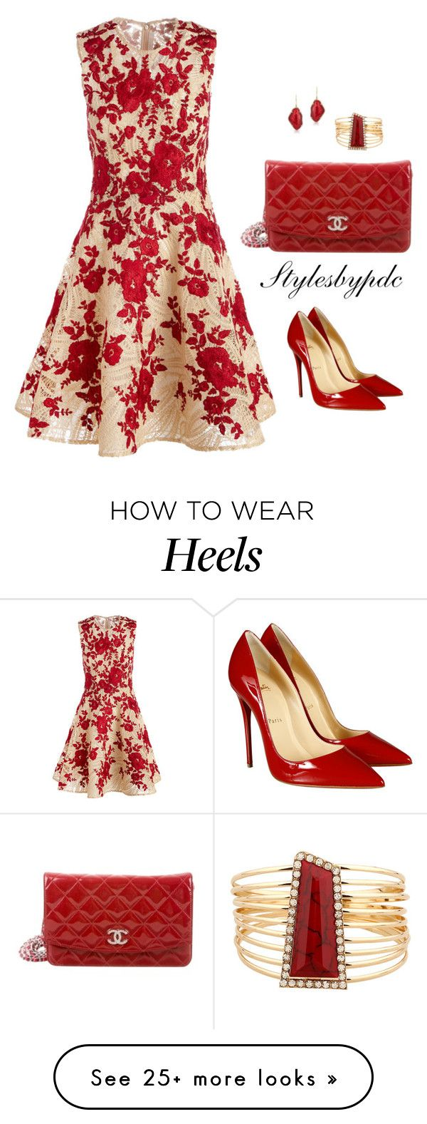 """""""Happy Mother's Day 2016"""" by stylesbypdc on Polyvore featuring Naeem Khan, Christian Louboutin, Chanel and Nuage"""