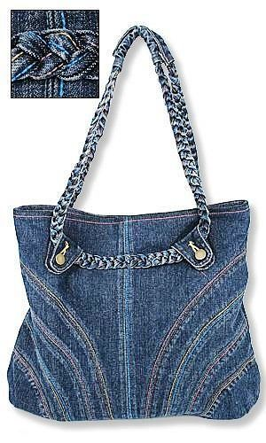 Denim bags (with some patterns):