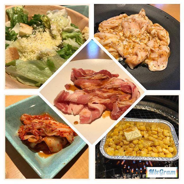 日曜に焼肉食べましたよーぃ! ランチはお得っ(*´ڡ`●) 写真撮ってる場合じゃないから 一部公開ですっ!笑 そうめんとかビビンバとか クッパとかそうめんとかそうめん モリモリ食べました!  #焼肉 #焼肉きんぐ #肉 #野菜も食べるデブ #でもやっぱり #炭水化物が好き #カルビ #ホルモン #好物 #今日じゃない