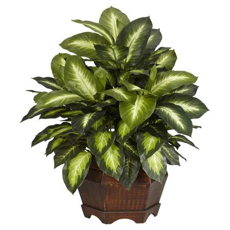 Invite the lush tropical style of Gauguin's French Polynesia to your home with this beautiful design. Product: Faux plant arrangement. For Living Room