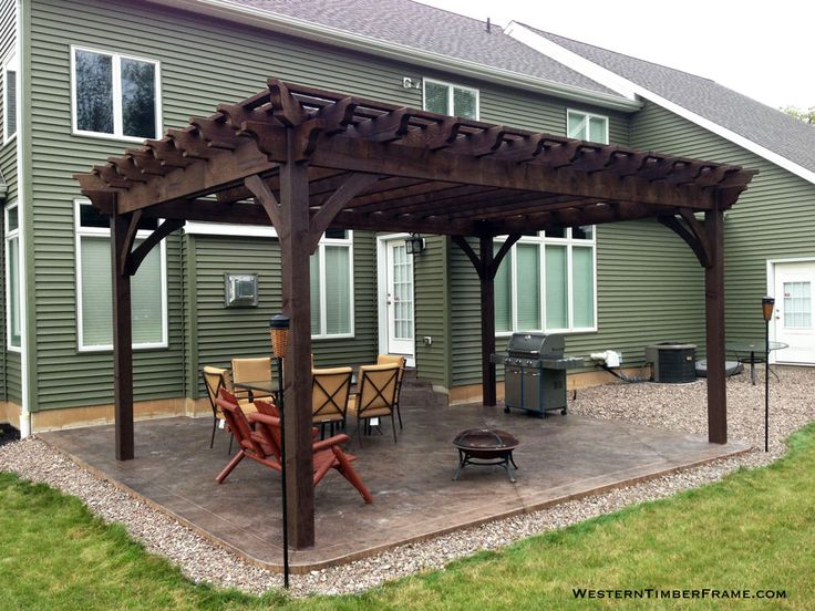 Home Shade Structures With Fire Pits Fire Places