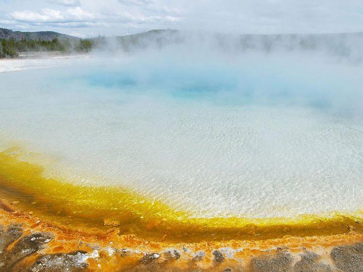 Le parc National de Yellowstone, juste sublime ! peut-être un jour...