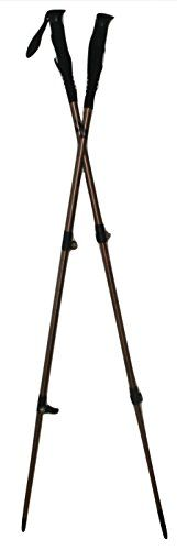Two Trekker Gold Standard Telescoping Collapsible Walking Sticks Perfect Hiking Poles for Backpacking Trekking Trail Hikes. Gear Up with Camping Supplies for Your Next Outdoor Trek. Pack Now! 1 Pair ** CONTINUE @ http://www.usefulcampingideas.com/store/two-trekker-gold-standard-telescoping-collapsible-walking-sticks-perfect-hiking-poles-for-backpacking-trekking-trail-hikes-gear-up-with-camping-supplies-for-your-next-outdoor-trek-pack-now-1-pair/?c=2093