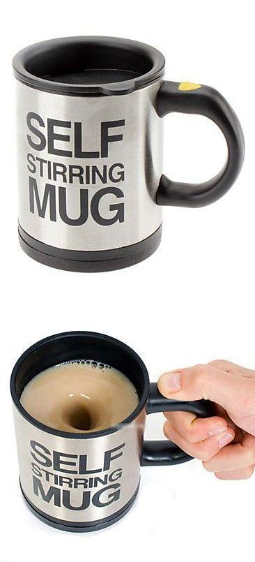 Self Stirring Mug // This is SO Awesome! #brilliant #love