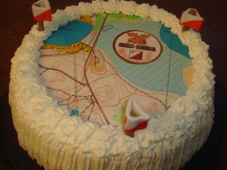 Suunnistajalle kakku