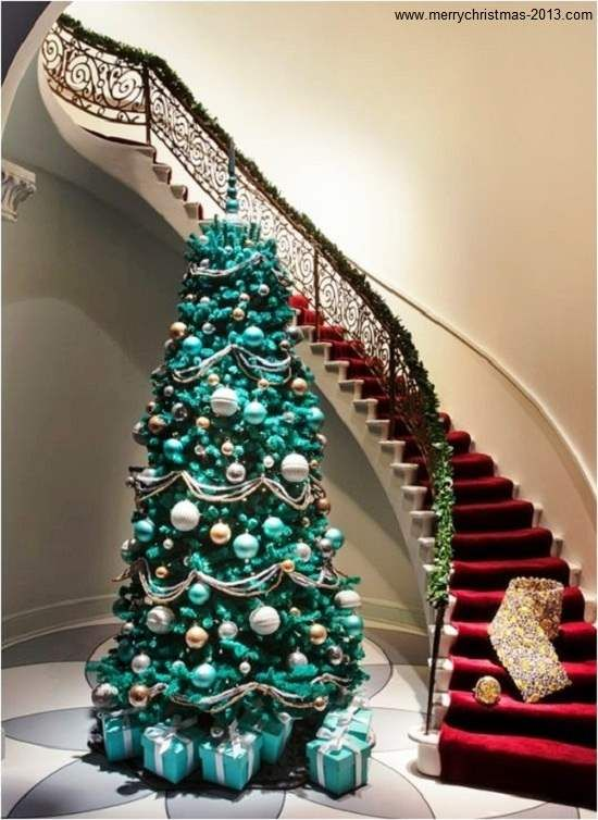 Pictures Of Decorated Christmas Trees On Pinterest With