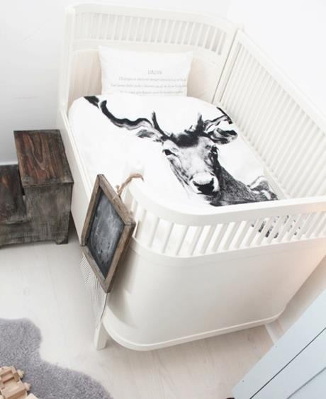 The new bed cot linen from By Nord! Absolutely beautiful!