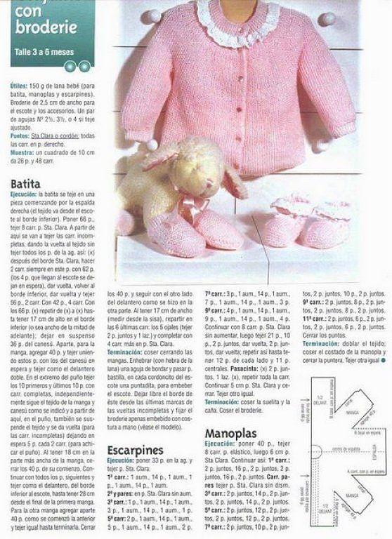 SOLO ROPITA DE BEBE EN PUNTO, GANCHILLO Y TELA (pág. 2) | Aprender manualidades es facilisimo.com