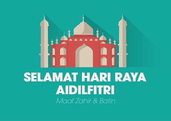 Selamat Hari Raya to all friends and customers celebrating this festive event.